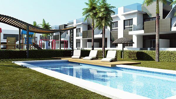 Costa Blanca Süd – Neue Appartements im Bungalow Stil nur 1800m zum Sandstrand