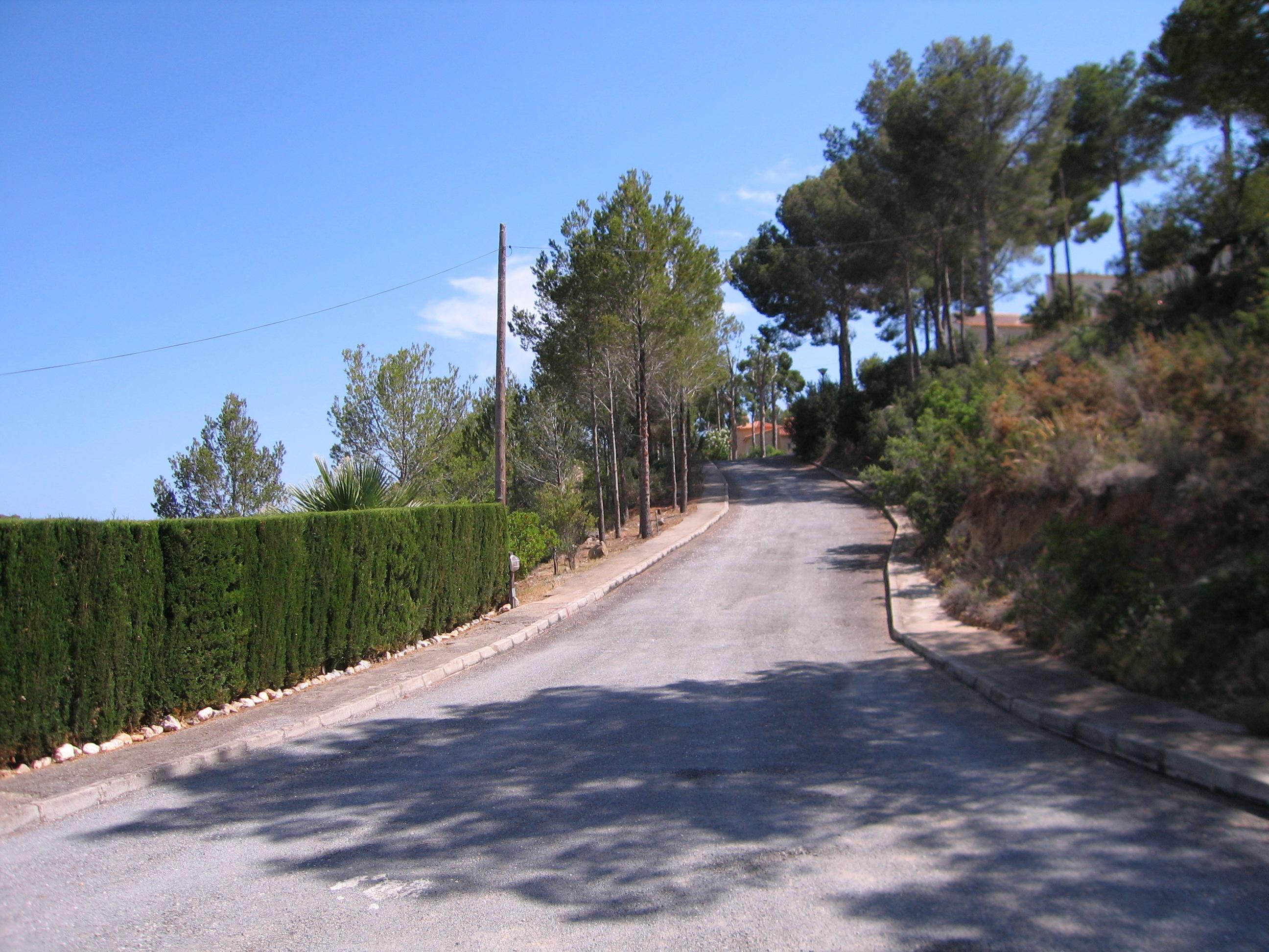 Costa Blanca Nord – Altea La Vella – idyllisch gelegenes Grundstück