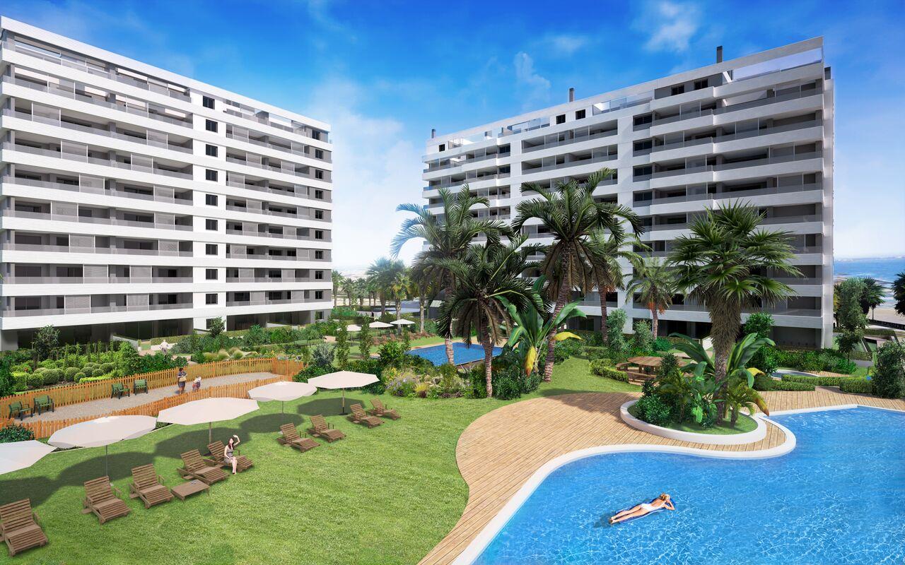 1. Linie am Meer –  Strandappartements in Torrevieja – Costa Blanca Süd