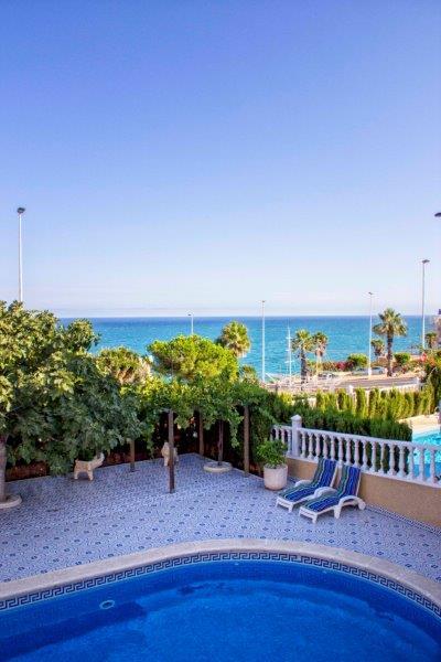 Torrevieja – Exklusive 5 Schlafzimmer Villa mit Panoramablick auf das Meer in Cabo Cervera, 250/500 m2, Pool