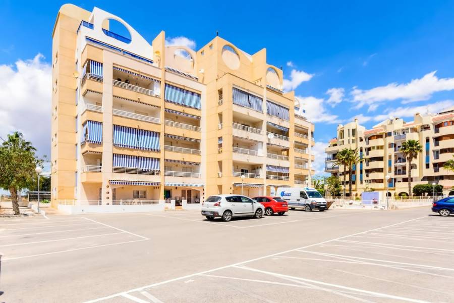 SPAIN COSTA BLANCA Torrevieja-Mar Azul, Ground floor Corner-apartment, 50 m from the sea, 3 Bedrooms, 2 Bathrooms, Common pool