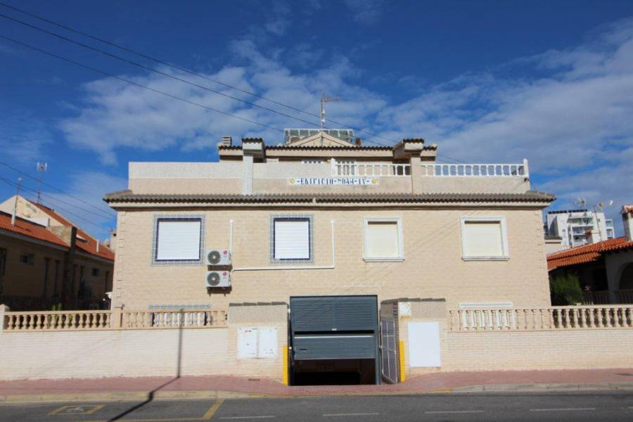 SPAIN COSTA BLANCA Torrevieja-La Mata, Duplex with private Solarium + Garage Space Closed on Second Line of the Beach, 3 bedrooms, 2 bathrooms