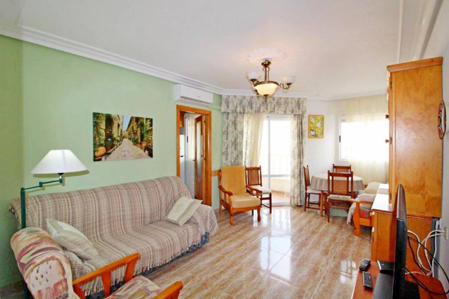 SPAIN COSTA BLANCA Torrevieja-La Mata, Central Penthouse with Community Pool 100 meters from the Beach