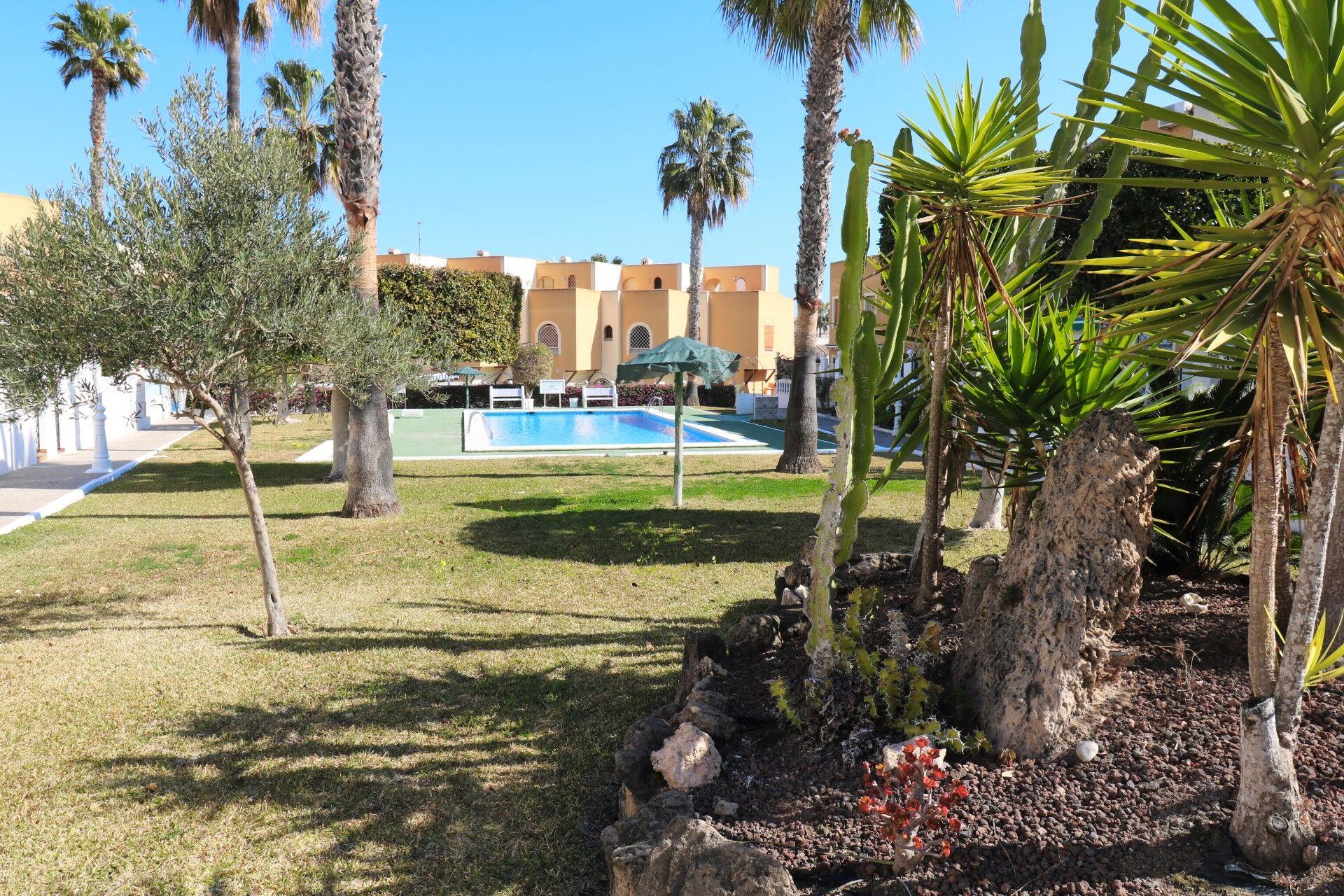 SPANIEN COSTA BLANCA La Mata,  oberer Bungalow mit Pool, Tennis, Minigolf, 800 m vom Strand
