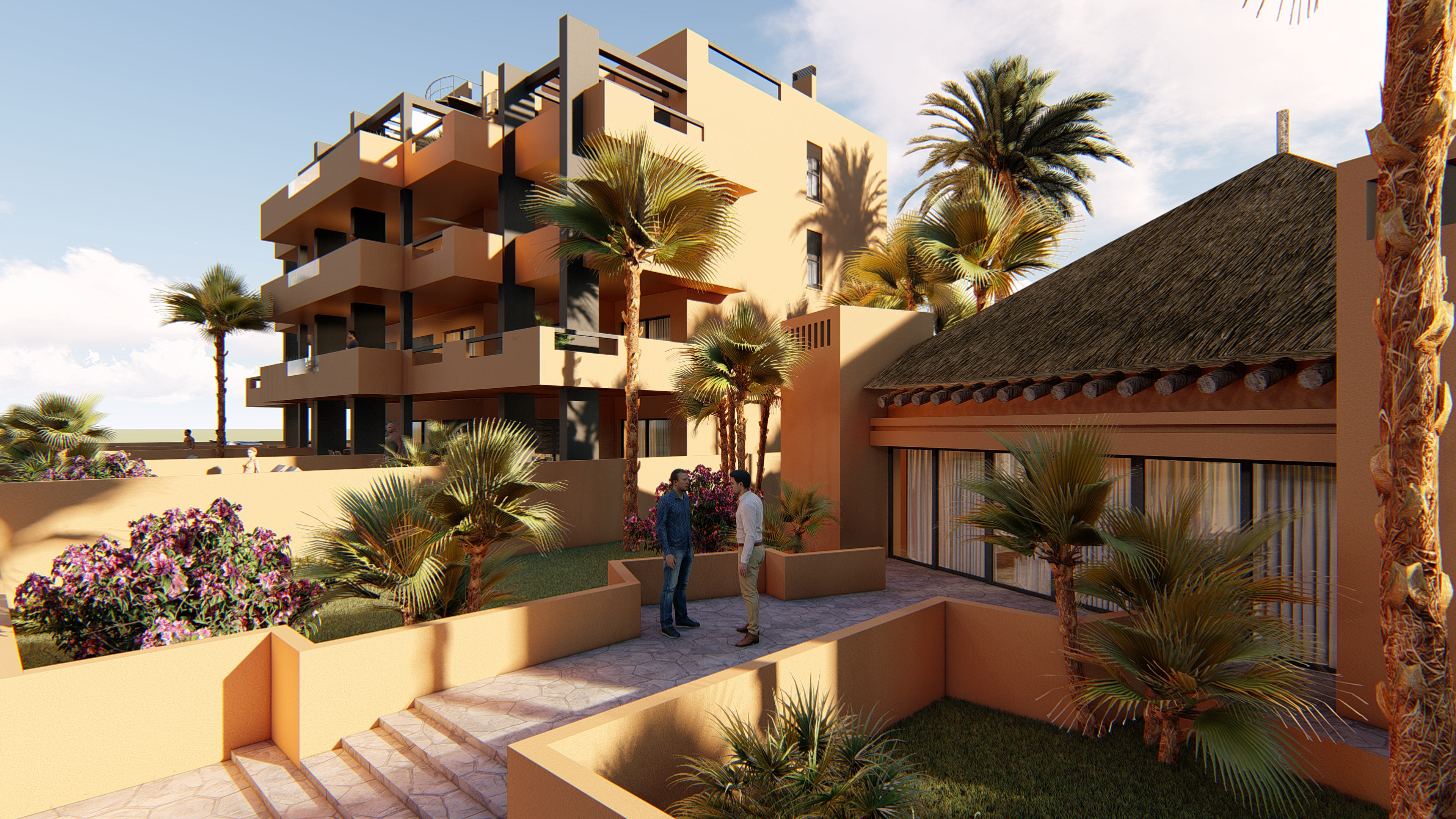 SPAIN COSTA BLANCA Villamartin, Mediterranean-style new built apartments with communal pool and garage