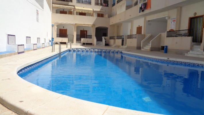 SPAIN COSTA BLANCA – Apartment with Community Pool at 250m from Los Locos Beach in Torrevieja