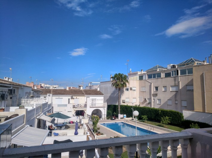 SPAIN COSTA BLANCA – Townhouse with Community Pool in Torrevieja