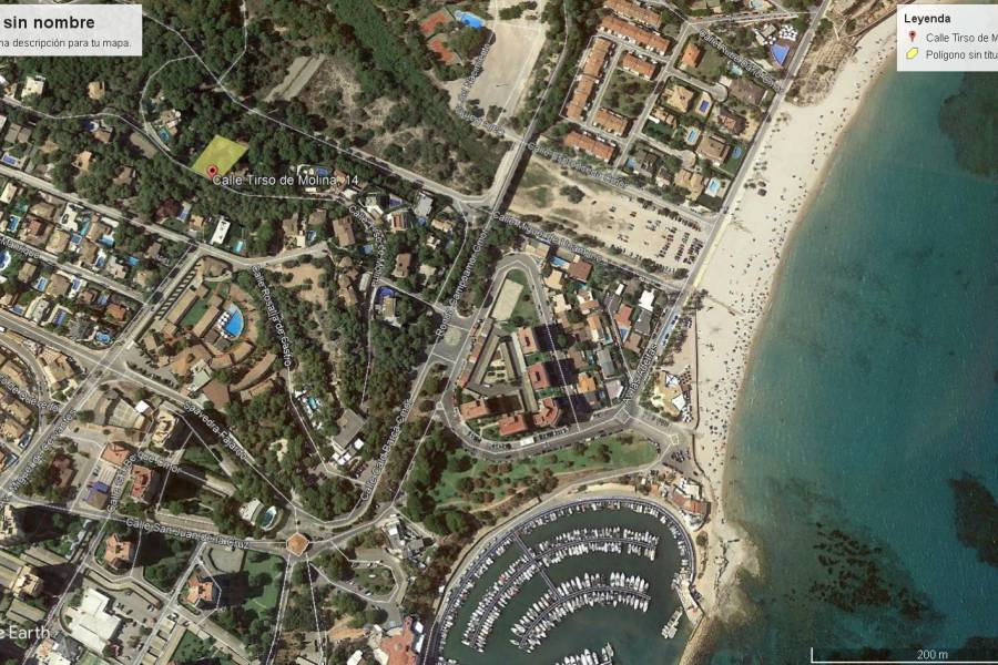 COSTA BLANCA ORIHUELA COSTA Dehesa de Campoamor Urban plot 900 m2