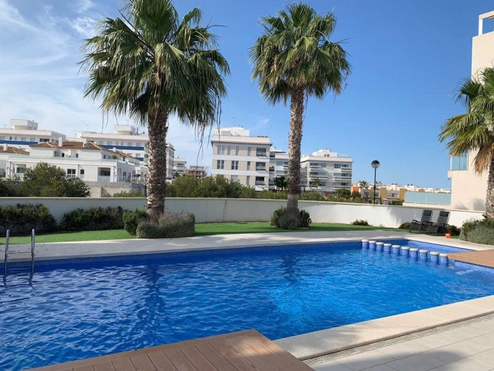 SPAIN COSTA BLANCA – Beautiful Practically New Apartment with Community Pool in Orihuela Costa