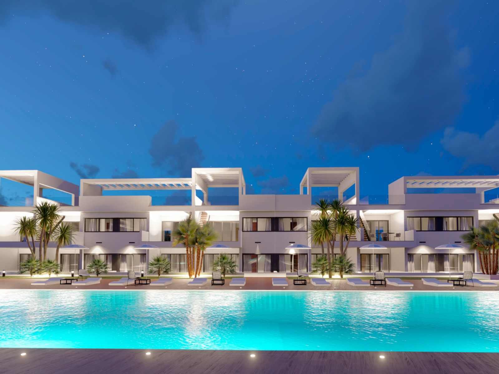 SPAIN COSTA BLANCA, Benidorm attractive new build apartments in a new resort with sea views