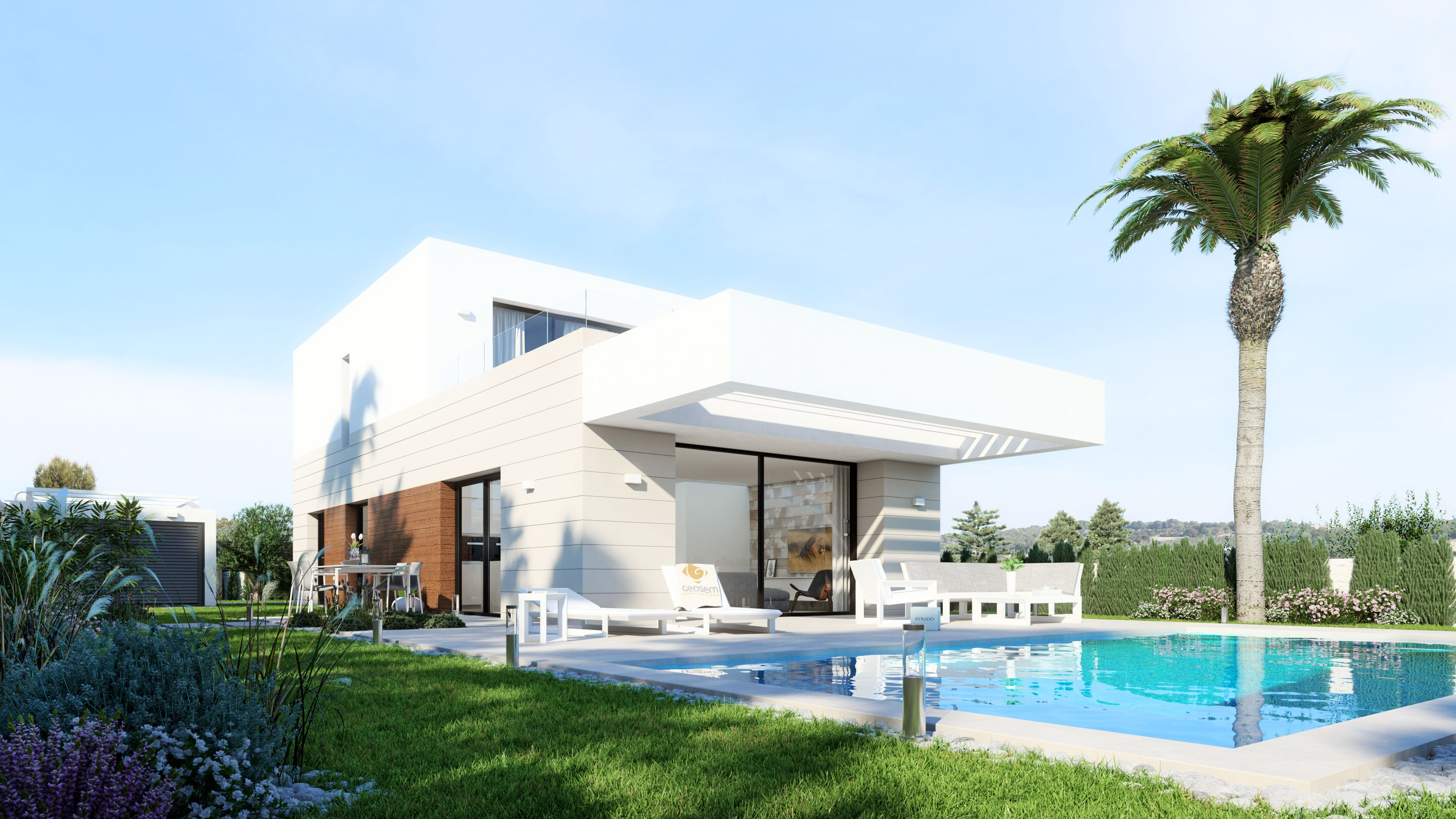 "SPAIN COSTA BLANCA – Montesinos, exclusive villas in the ""green"" but not far from the beach"