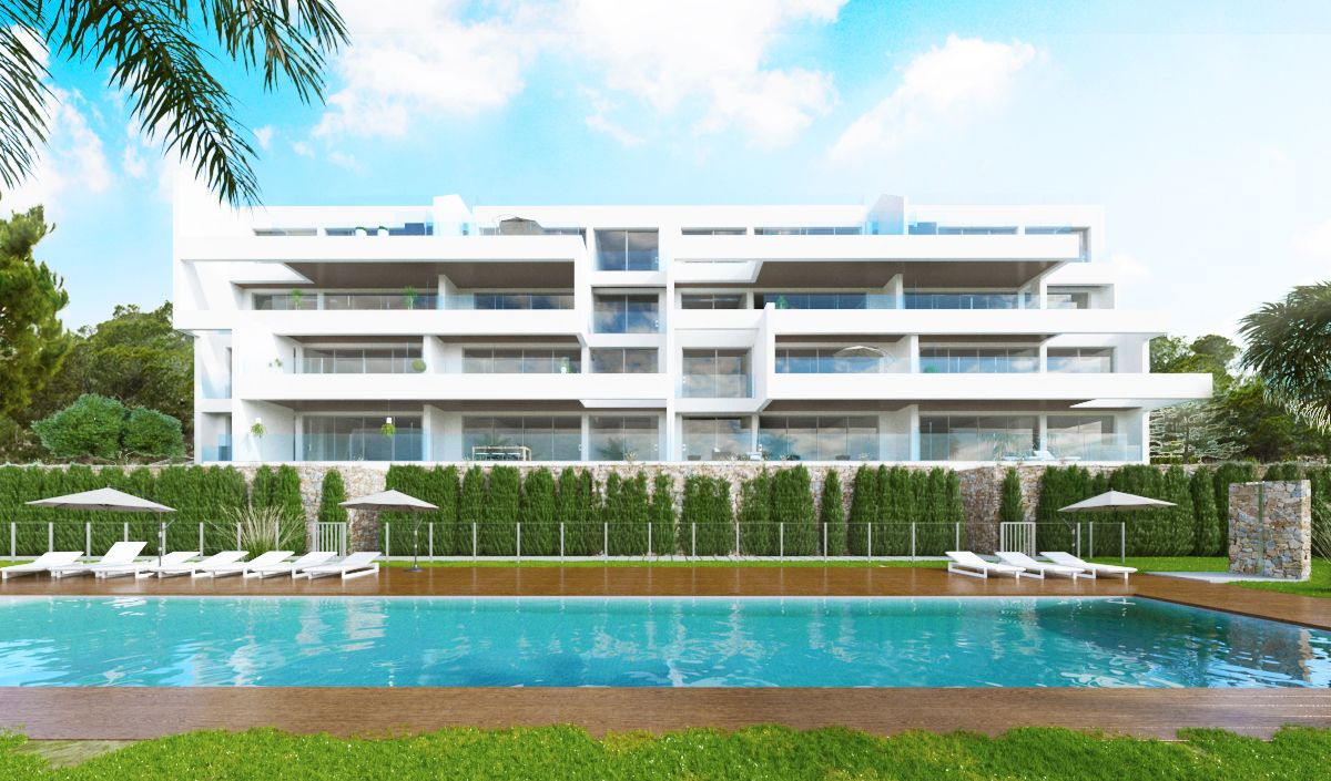 SPAIN COSTA BLANCA – Campoamor, luxury apartments on the golf course with sea views and over the valley