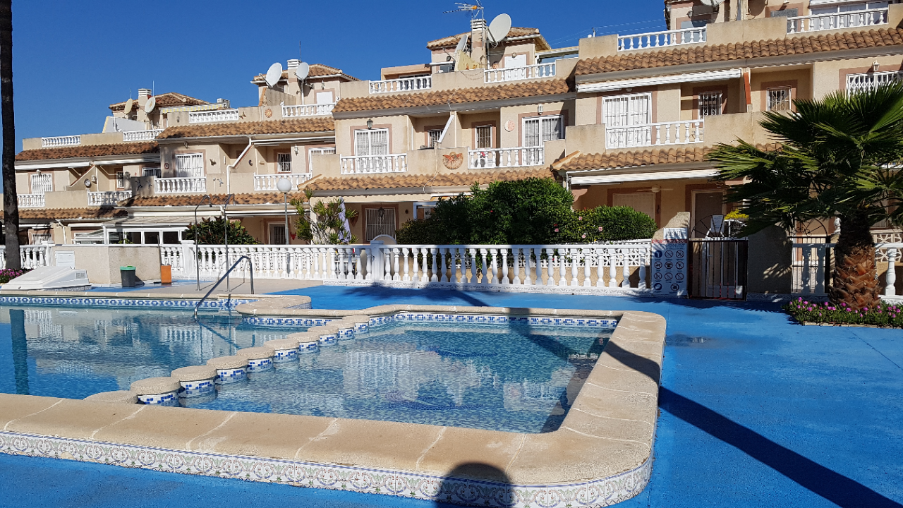 SPAIN COSTA BLANCA Torrevieja – El Chaparral, terraced house in a very quiet location with com-pool